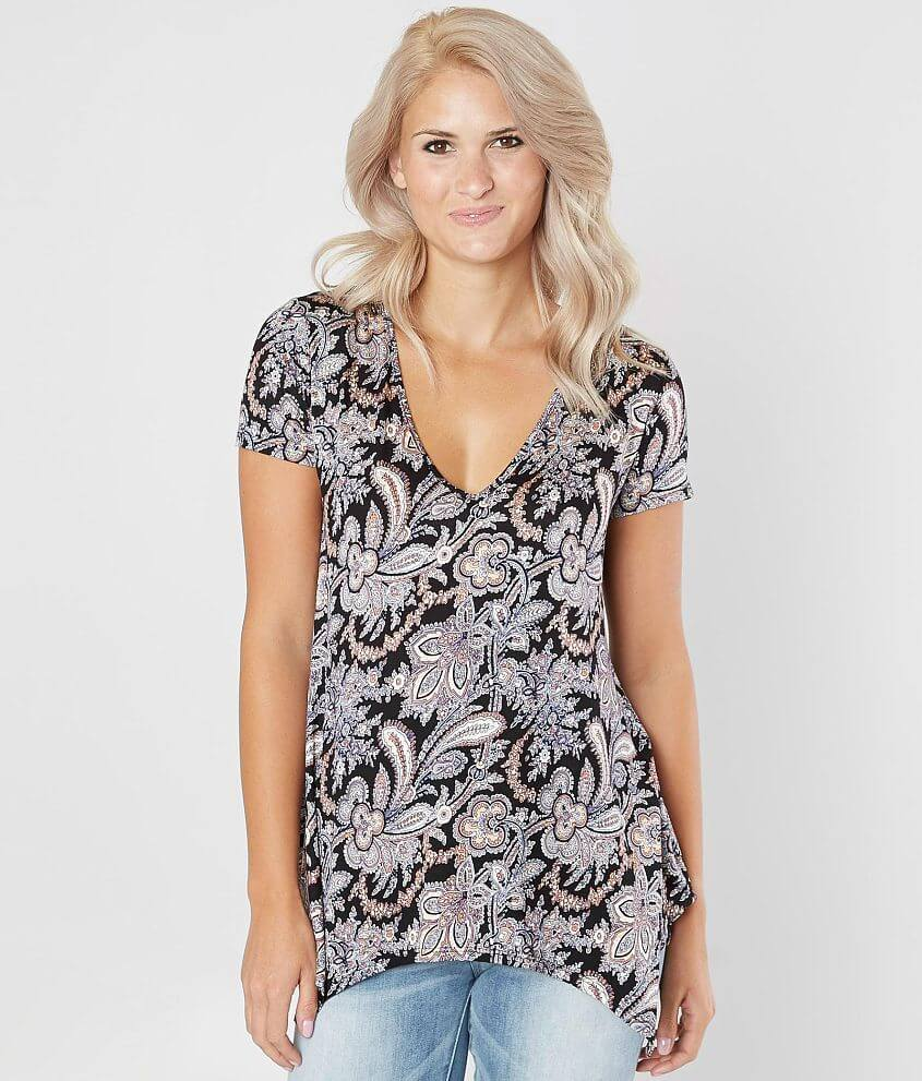 Daytrip Floral Top front view