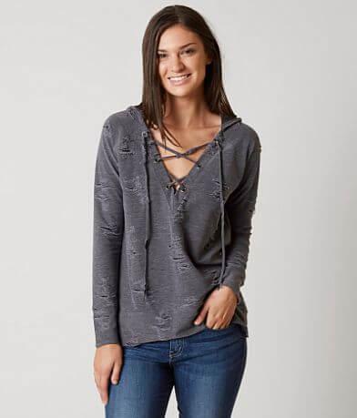 Daytrip Shredded Sweatshirt