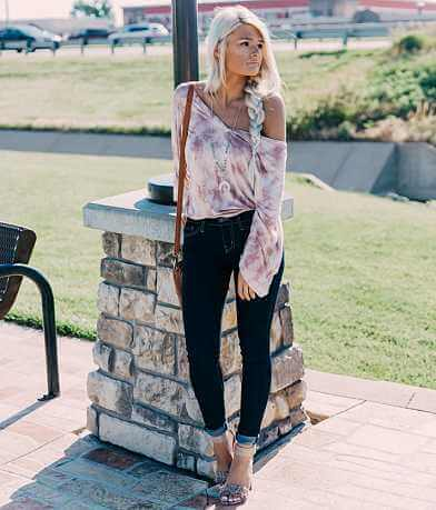 Willow & Root Tie Dye Dolman Top
