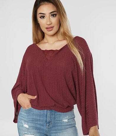 Willow & Root Ribbed Top