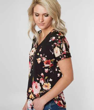 Daytrip Floral V-Neck T-Shirt