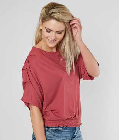 Daytrip Smocked Top