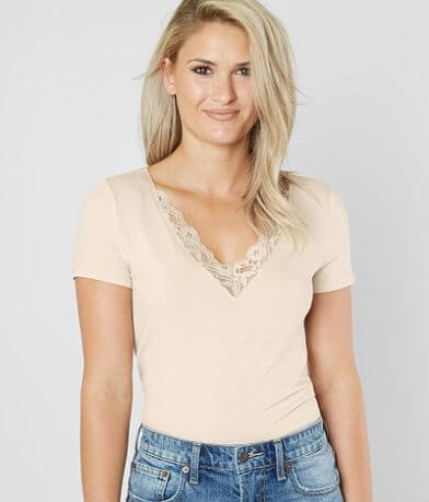 Daytrip Double V-Neck Top