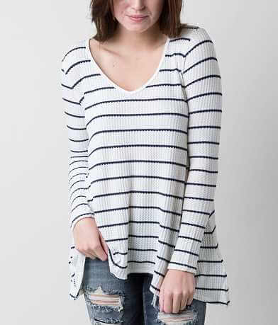 Living Doll Striped Thermal Top