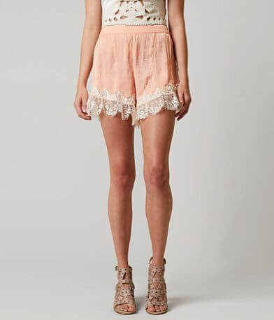 Living Doll Satin Shorts