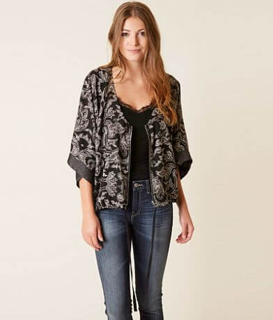 Daytrip Printed Cardigan