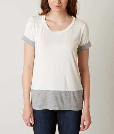 LE LIS Scoop Neck Top
