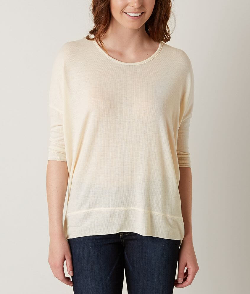 LE LIS Ribbed Top front view