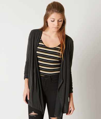 LE LIS Solid Cardigan