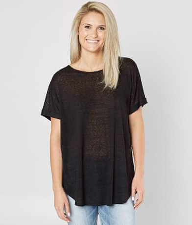 Daytrip High Low Burnout Top