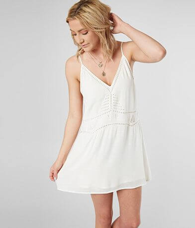 LE LIS Embroidered Dress