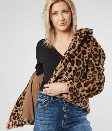 LE LIS Cheetah Jacket