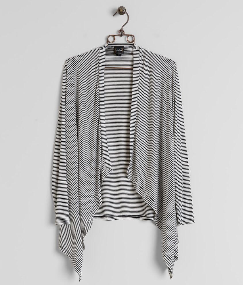 Daytrip Striped Cardigan front view