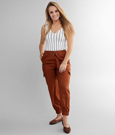 Daytrip Belted Cargo Jogger Pant