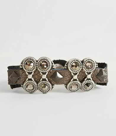 Leatherock Metallic Bracelet