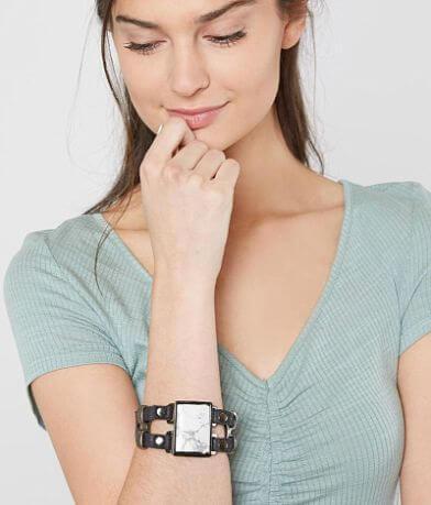 Leatherock Howlite Bracelet