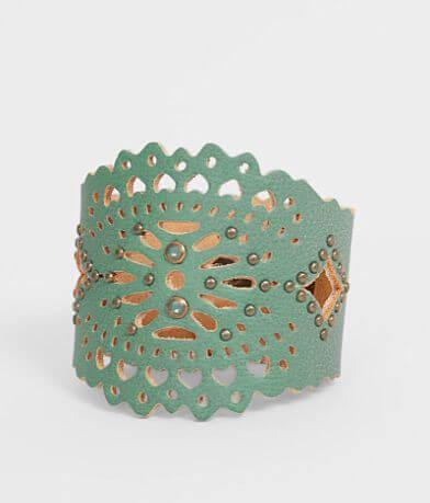 Leatherock Laser Cut Bracelet