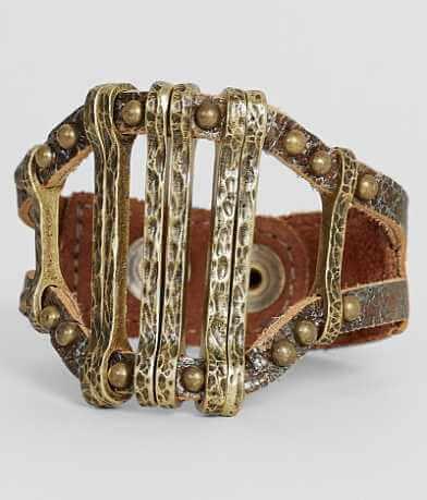Leatherock Studded Bracelet