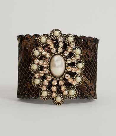 Leatherock Metallic Bracelet
