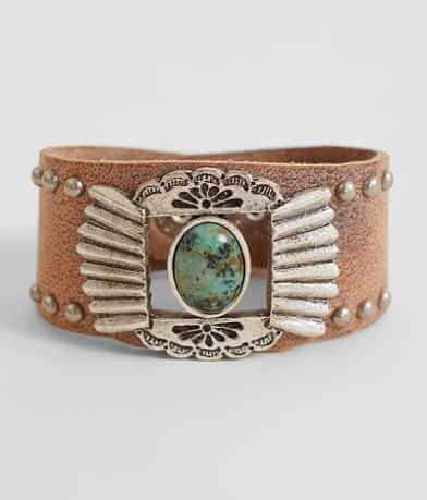 Leatherock Stone Bracelet