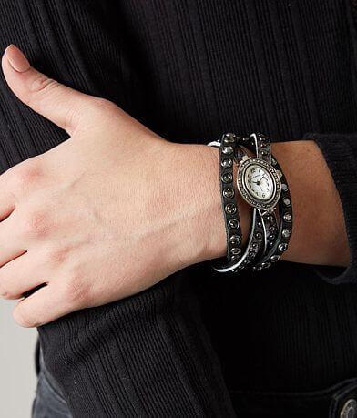Leatherock Twisted Leather Watch