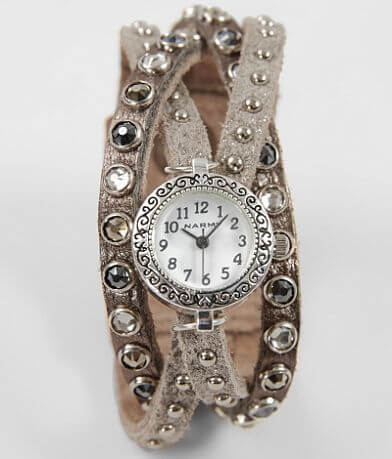 Leatherock Glitz Leather Watch