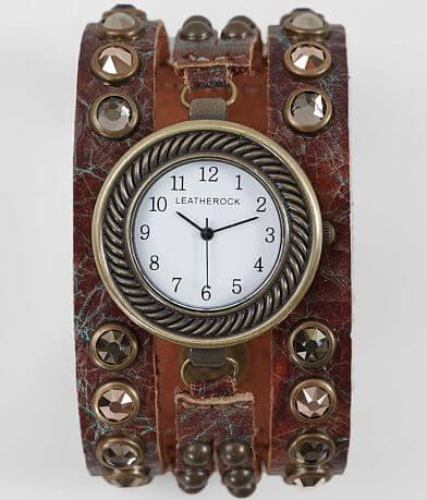 Leatherock Glitz Leather Watch