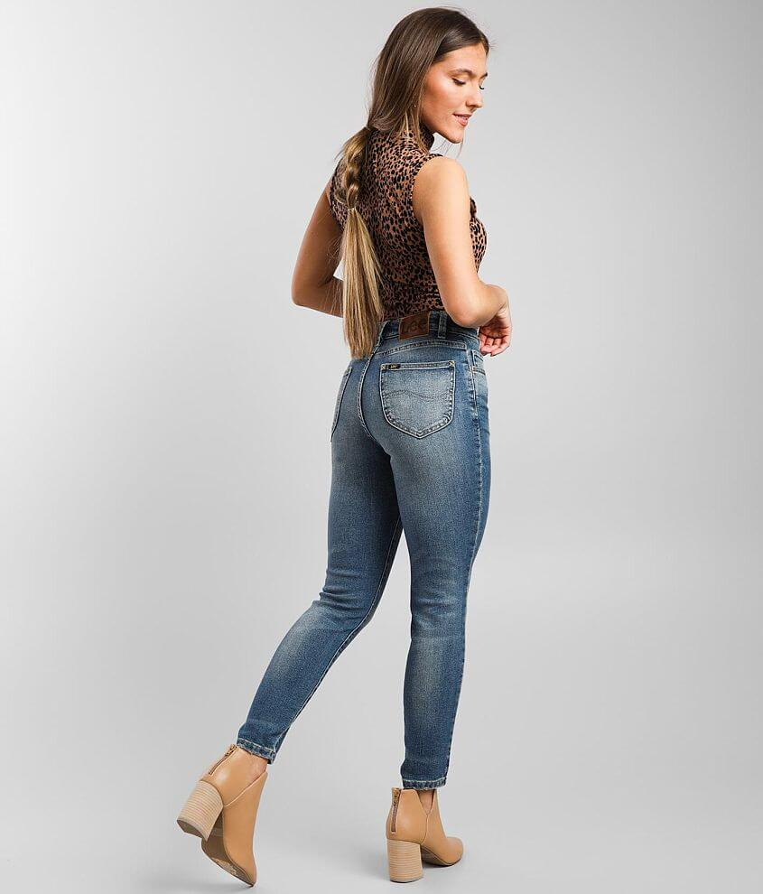 Lee® Vintage High Rise Ankle Skinny Jean front view