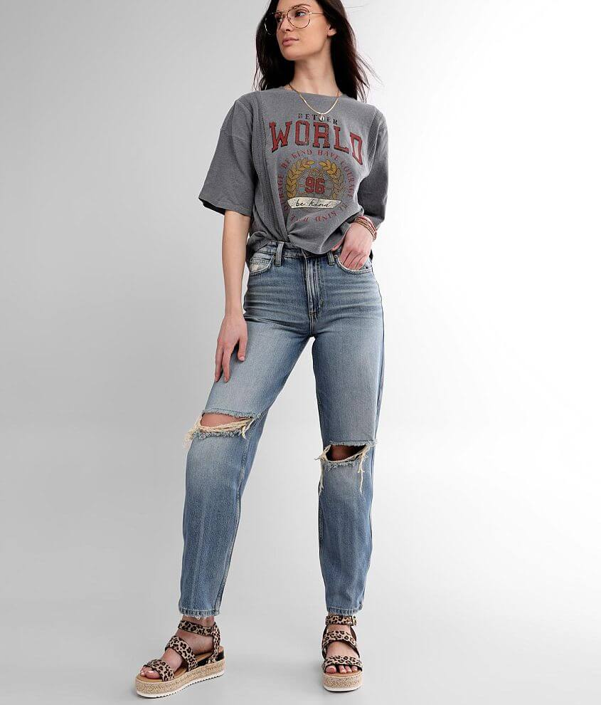 Lee® High Rise Relaxed Stovepipe Jean front view