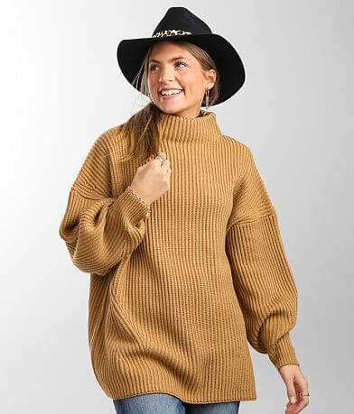 BKE Ribbed Pullover Sweater