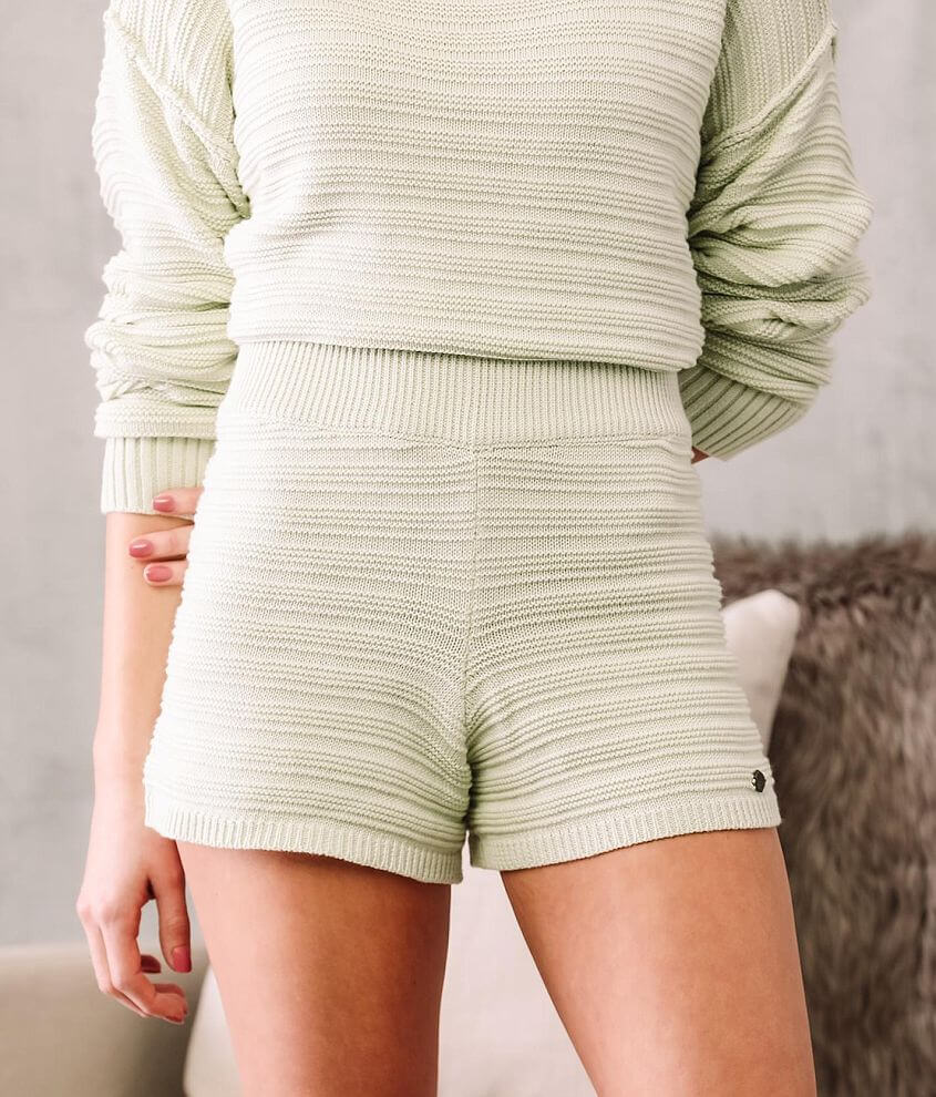 Fade by BKE Knit Sweater Short front view
