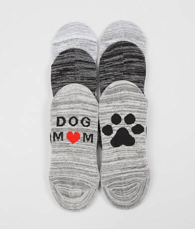 BKE Dog Mom 3 Pack Socks