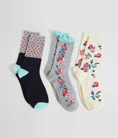 Jessica Simpson 3 Pack Socks