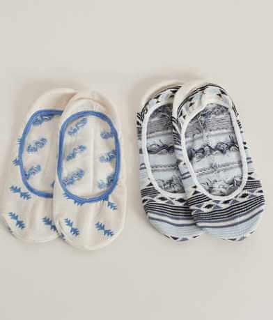 Lucky Brand 2 Pack Liner Socks