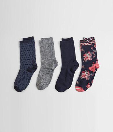 Lucky Brand 4 Pack Socks