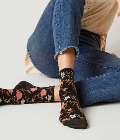 Lucky Brand Floral 3 Pack Sock
