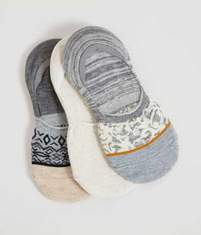 Lucky Brand Footliner 3 Pack Sock