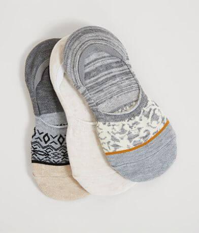 Lucky Brand Footliner 3 Pack Sock