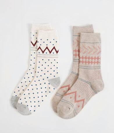 Lucky Brand 2 Pack Socks