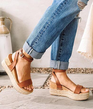 Wild Diva Lounge Kiara Espadrille Wedge Sandal