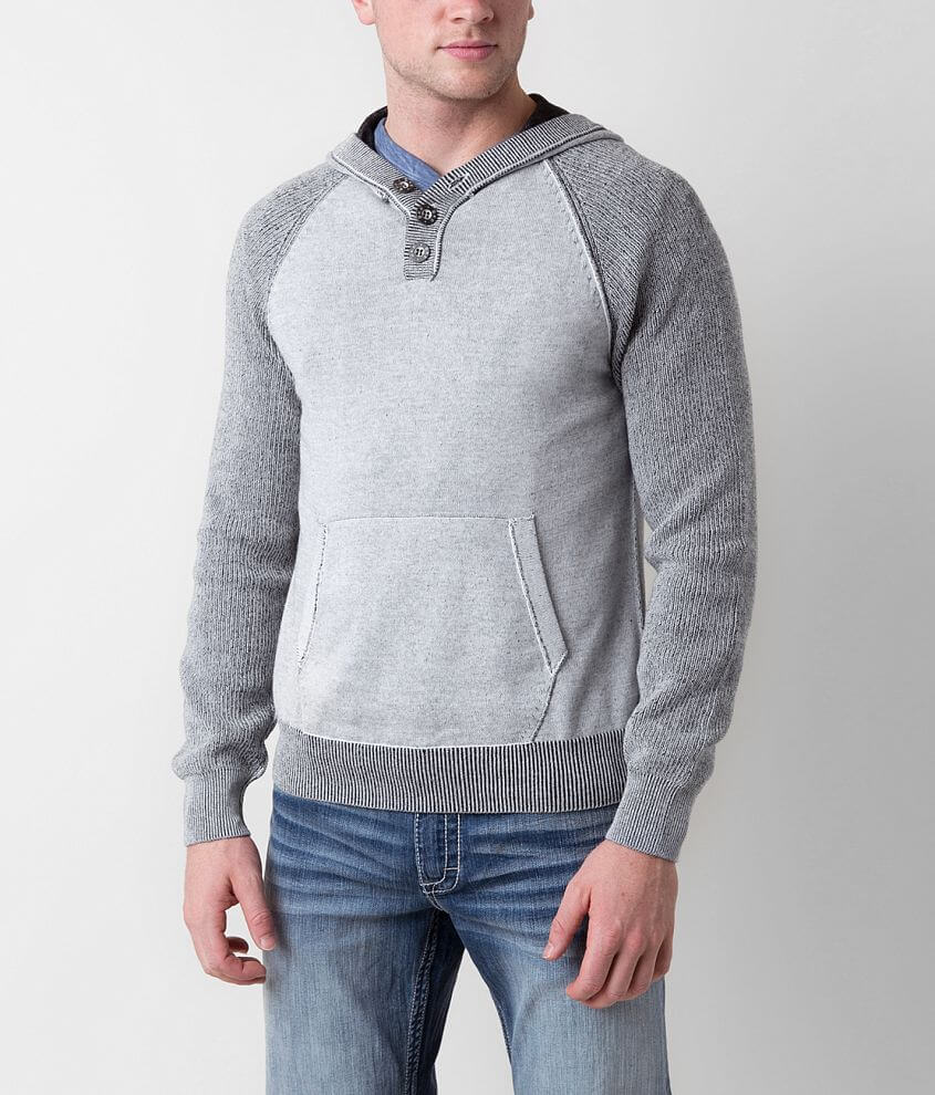 BKE Pine Henley Sweater front view