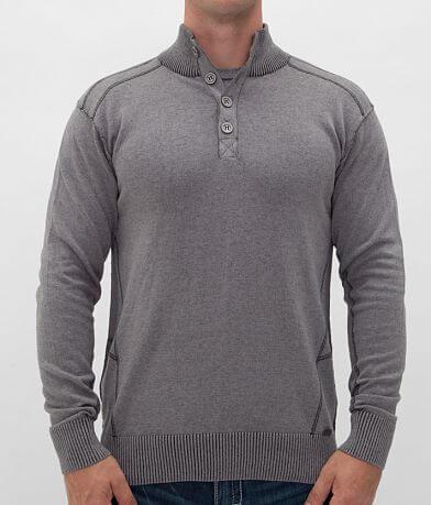 Buckle Black Elation Henley Sweater