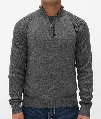 Buckle Black Motion Sweater