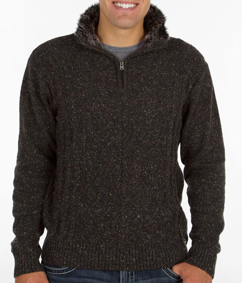 Buckle Black Speechless Sweater front view