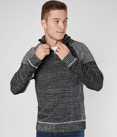 J.B. Holt Donovan Quarter Zip Sweater