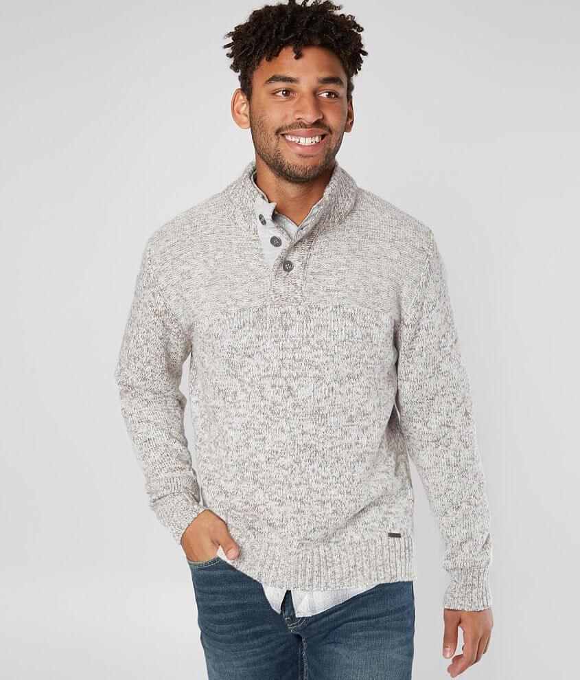 J.B. Holt Mischief Henley Sweater front view