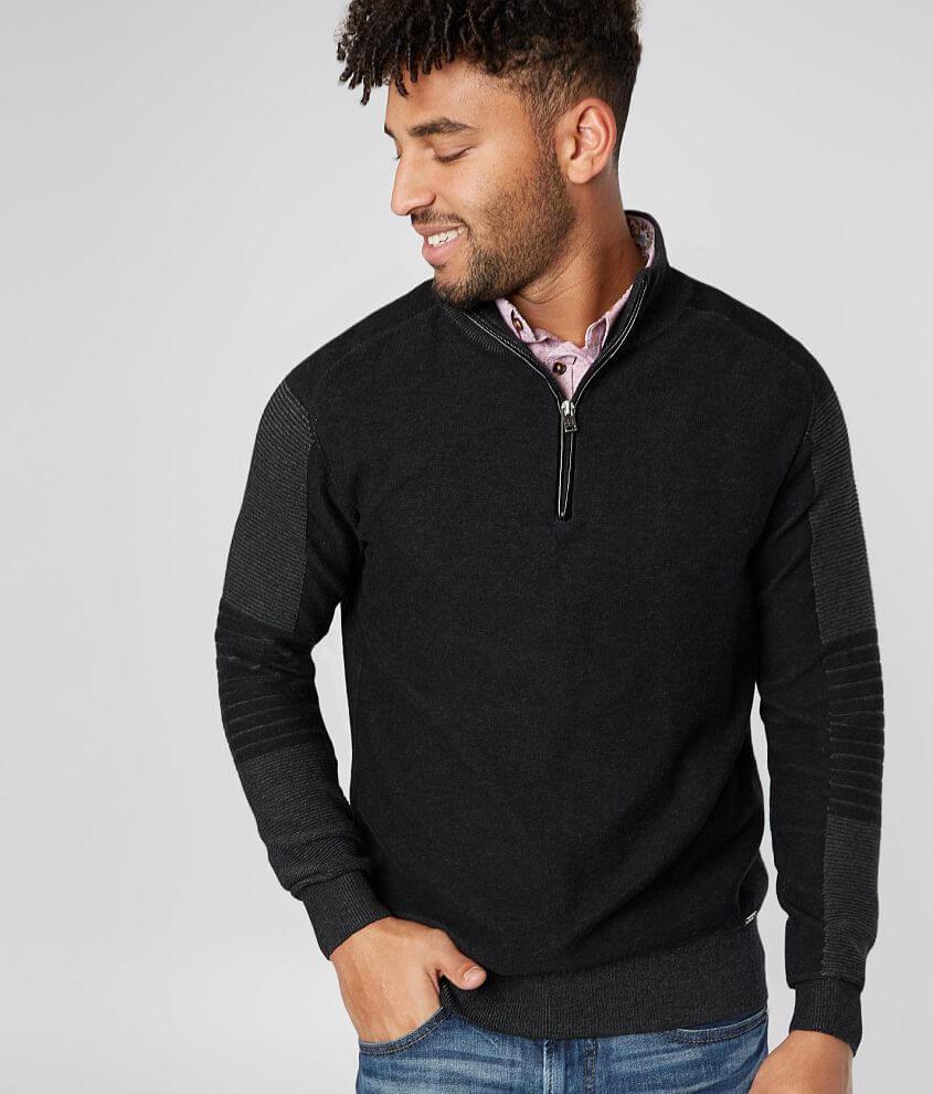 J.B. Holt Friend Quarter Zip Sweater front view