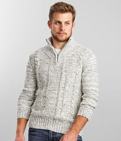 J.B. Holt Explorer Quarter Zip Sweater