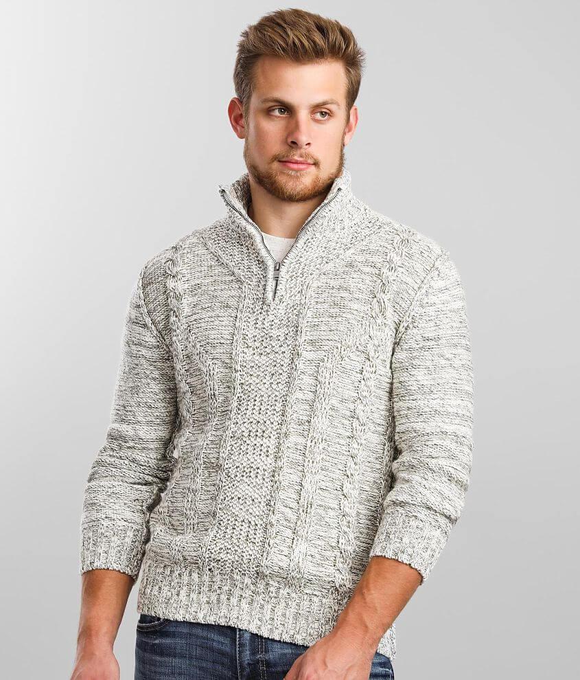 J.B. Holt Explorer Quarter Zip Sweater front view
