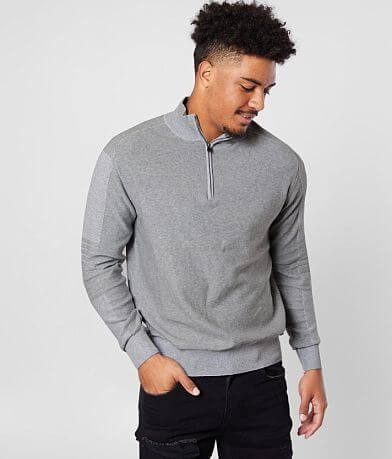 J.B. Holt Quarter Zip Sweater